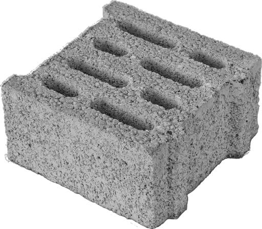Mini blocchi in cemento per murature portanti